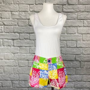 """Lilly Pulitzer 3"""" Walsh Shorts   Rollin Turtle"""